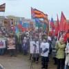 Садко Новгородцев. Митинг против 5-й колонны у мемориала 5й колонне.