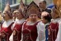 Марианна Медведева. » О клюкве» в русском народном костюме…