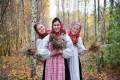 Русский народный костюм в культуре