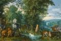 Даниил Андреев. Отношение к животному царству