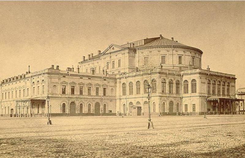 История, Русский театр,