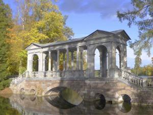 Пушкин, Царское село, Екатерининский парк, Мраморный мостик