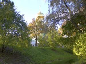 Пушкин, Царское село, Екатерининский парк, Фёдоровский Собор