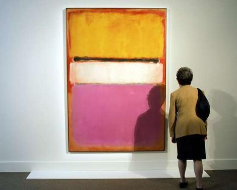 абстрактное искусство, марка ротко картины, искусствоведы, удачные продажи на аукционе, частные коллекции, безумный мир