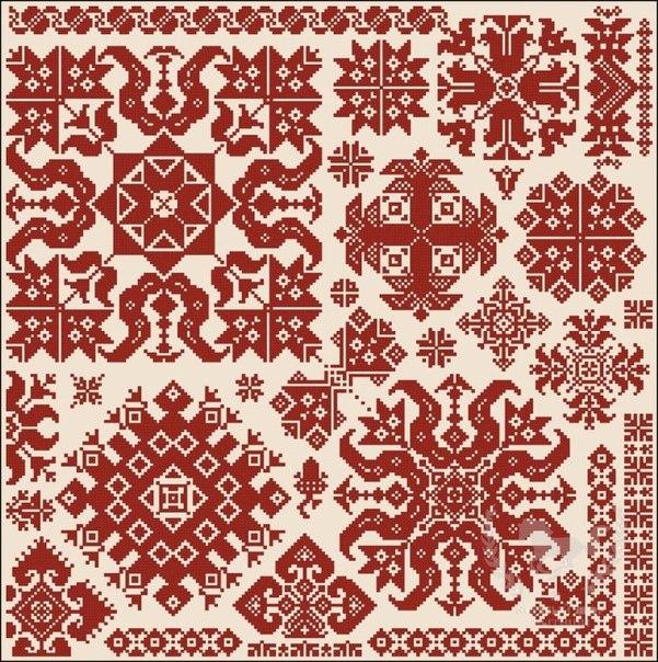 Русская традиция, русский орнамент, вышивка, история