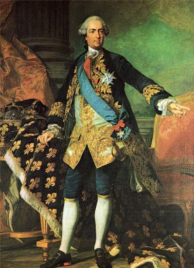 костюм 18 века 2