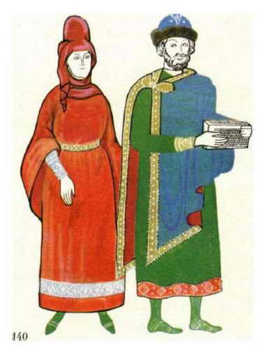 Русский костюм 01