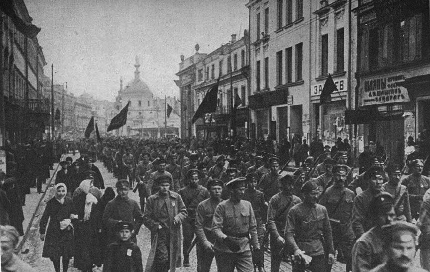 the human tragedy of the russian revolution and the rise of the red guard The paperback of the a people's tragedy: the russian revolution human sympathy, a people's tragedy is a profound smolny institute 64 the red guard of.