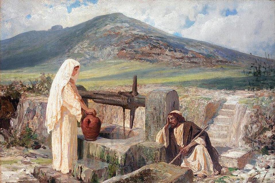 Иисус-и-самарянка.-В.-Поленов.-1889–1909-гг.1