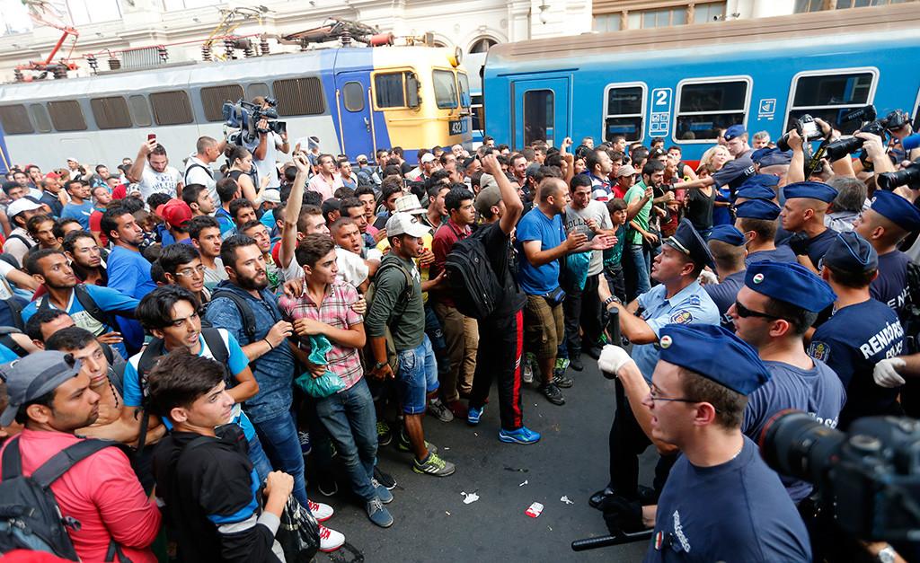 мигранты в евросоюзе