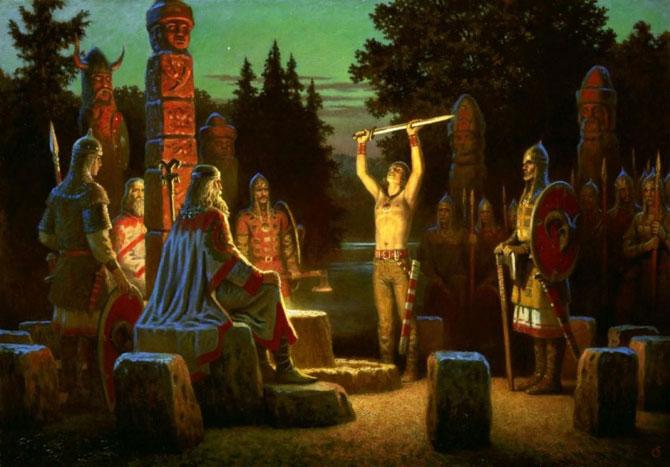 Древнерусский языческий праздник связанный с культом мертвых